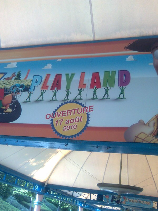 Toy Story Playland ! News !