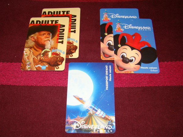 Collection de Passeport Disney !