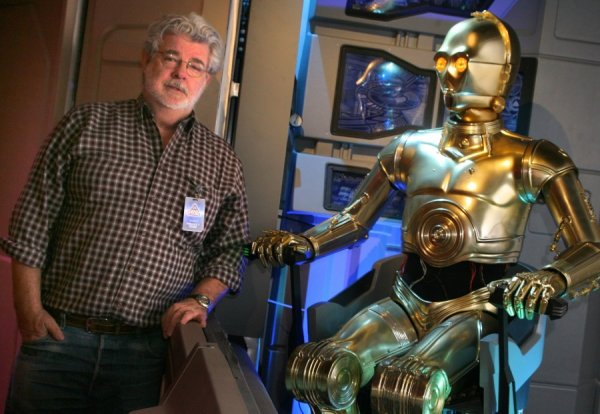 George Lucas à Star Tours