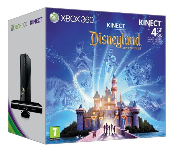 Disneyland Adventures sur Kinect!