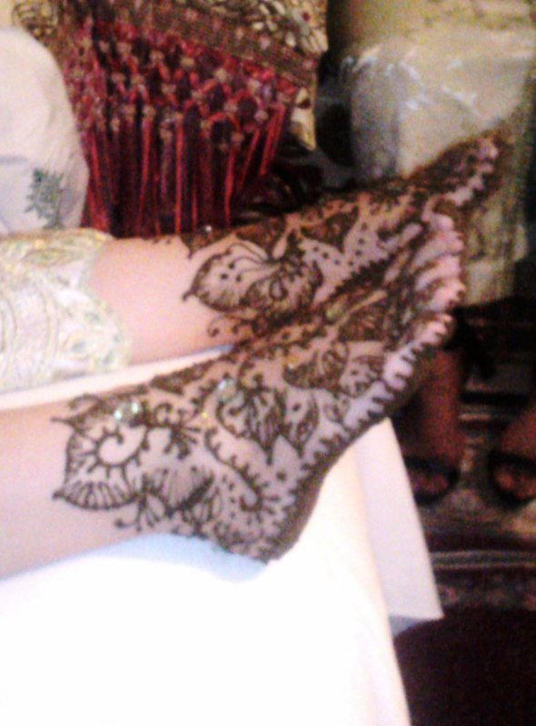 henna mariage