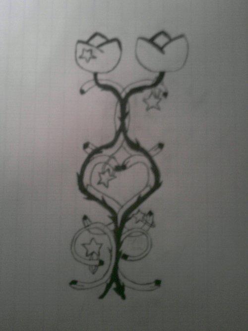 Croquis du tatouage n°2