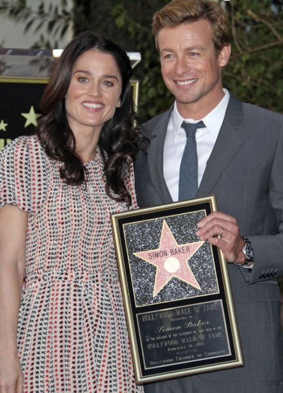 Simon Baker et son étoile Hollywoodienne !
