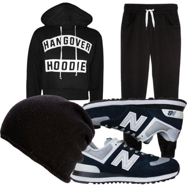 tenue de sport d'hiver