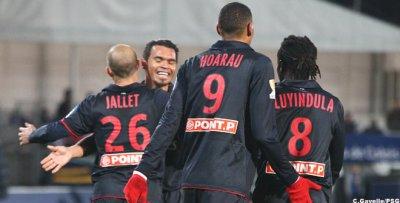 Valenciennes 1 - 3 PSG
