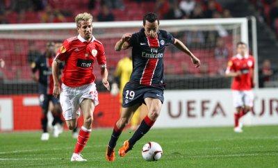 Benfica 2  - 1  PSG