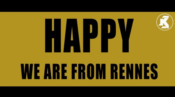 ♪♫☺♬ Pharrell Williams - Happy - (WE ARE FROM RENNES 35000 ) - By KedoManagement