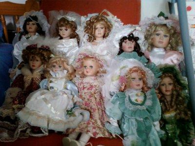 Je ne veux plus entendre que les poupées c'est pour les gamines !!!