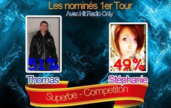 Nomination : Semaine 1