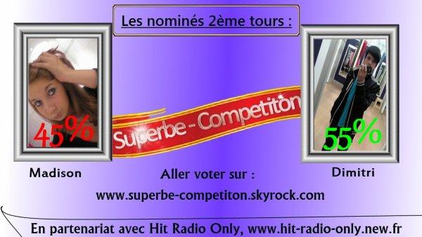 Nomination : Semaine 2