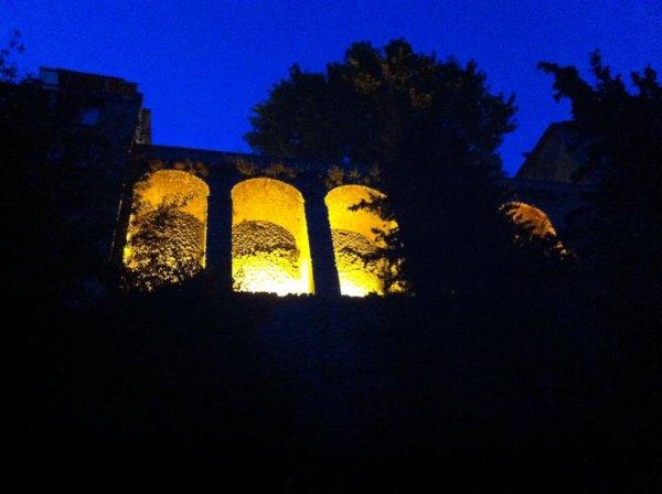 Voutes de Montbrun les Bians la nuit *_*