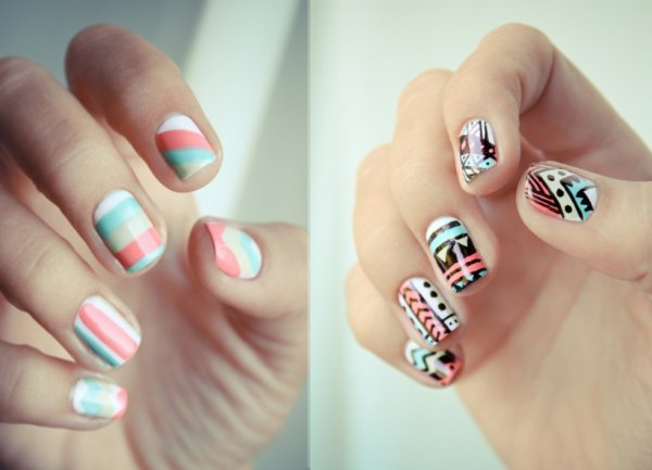 Nail - Tribal Aztec ♥