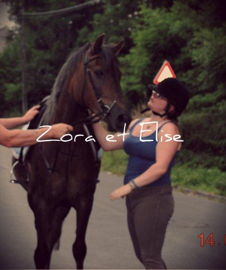 Tant que mon coeur bas, il continuera a t'aimer aussi (l) je t'aime Zora (l)