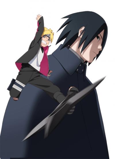 Naruto Gaiden : Boruto et Sasuke - La divinité de la guérison.