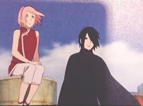 Boruto The Movie : Sakura et Sasuke