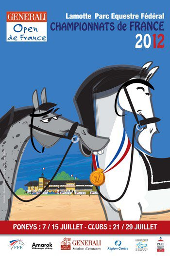 Championnats de France - Open de France 2012