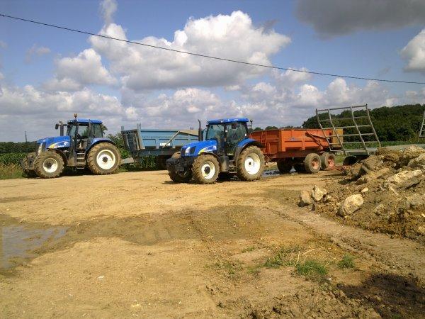 tg 210 avec maupu 14T et T6050 avec brochard 10T
