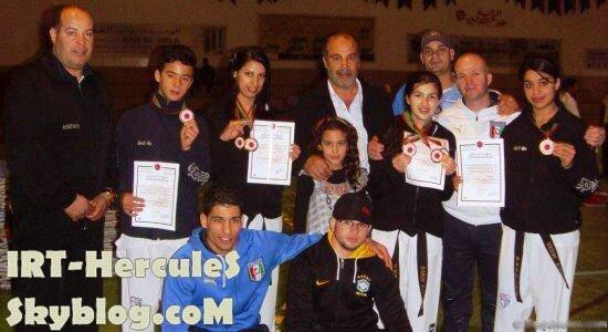 لاعبات اتحاد طنجة للتايكواندو يحصدن الميداليات الذهبية في بطولة المغرب