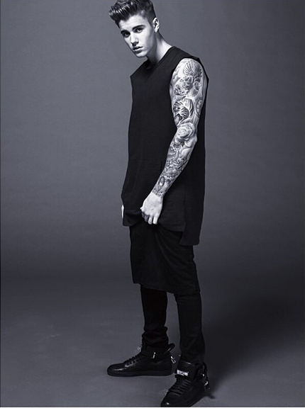 Nouvelle photo de Justin.