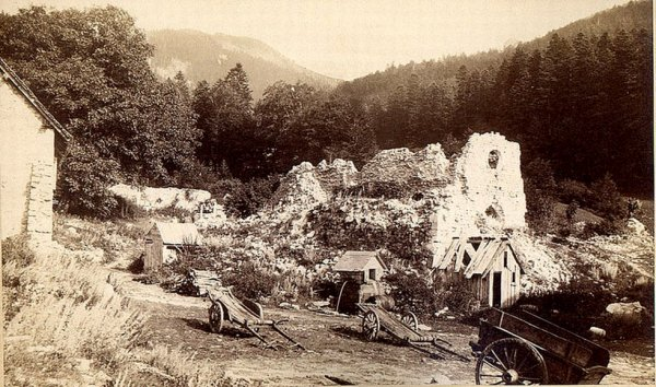 La Chartreuse de Durbon - en 1880