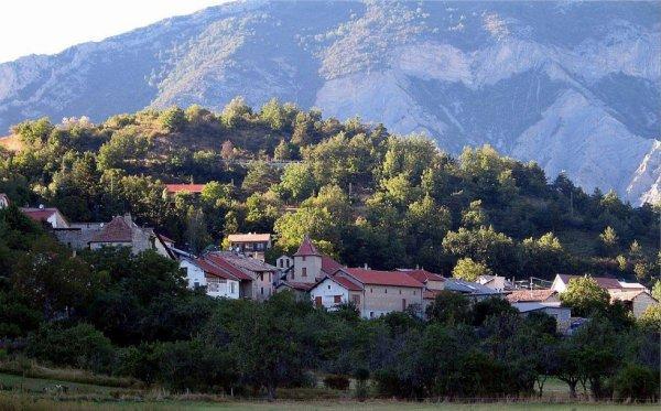 Saint Marcellin commune de Veynes.