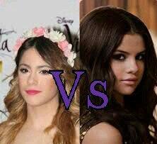 Vs du jour: Martina Stoessel ou Selena Gomez?