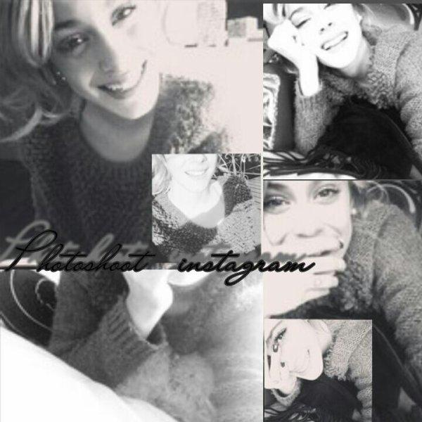 News: Photoshoot en noir et blanc de Tini ♡