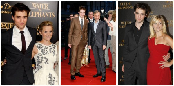Premières Water For Elephants + Gala Met