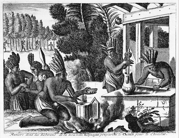 L'Histoire du Chocolat  (pour commencer doucement)