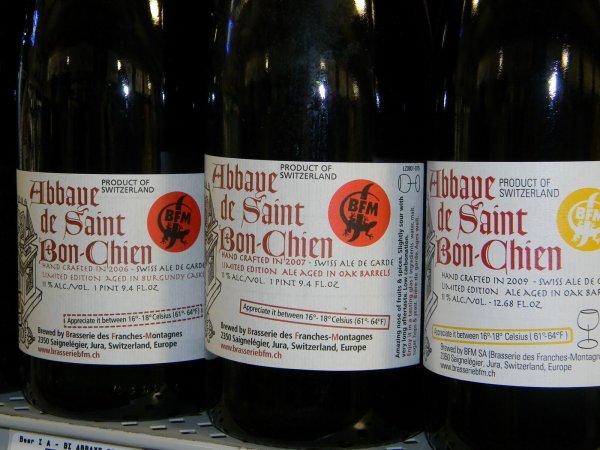 « L'Abbaye de Saint Bon-Chien »  Meilleure  bière du monde !!!