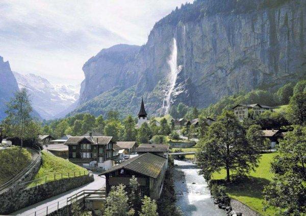 La Suisse pays de vacances