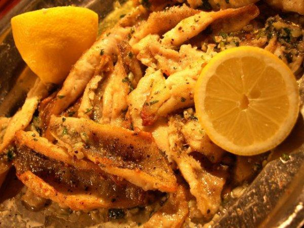 (Gastronomie) Filets de Perche Meunière