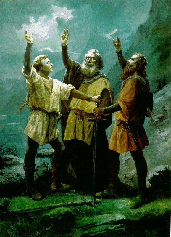 Fête Nationale de la Suisse : La vérité d'une invention