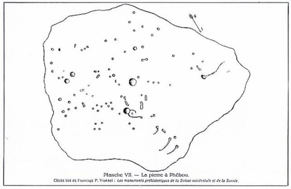 Menhirs, Dolmen et  Pierres à énergie tellurique de Suisse Romande (lieux sacrés) (2)