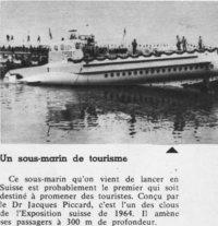 A la conquête du ciel et des abysses (2) Jacques Piccard