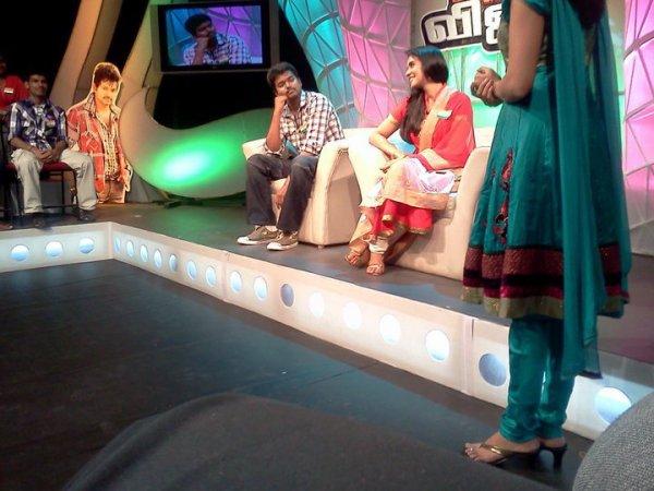 Asin- Vijay @ Kavalan Spl programme in JAVA TV