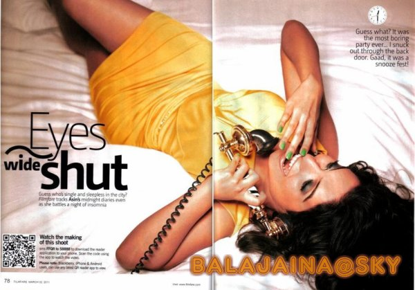 asin Filmfare March 2011