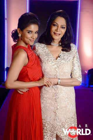 Asin on India's Most Desirable Celebrities Talk Show