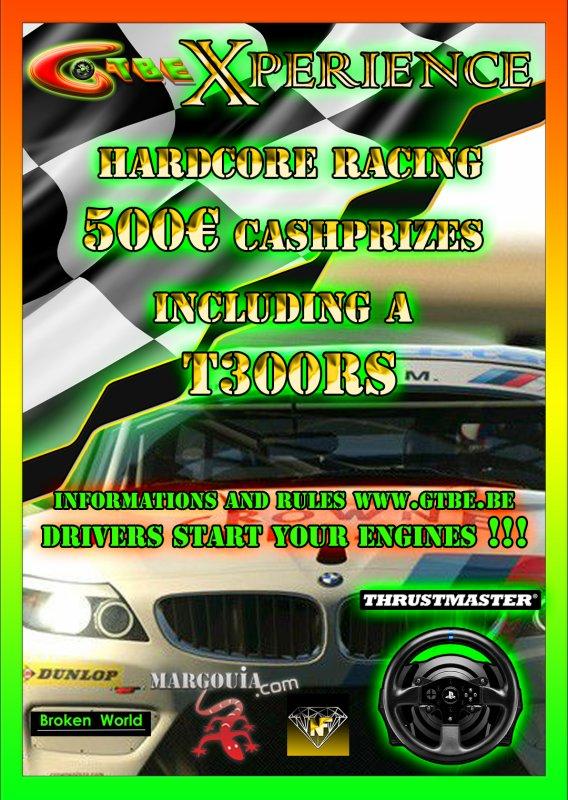 GTBE Xperience Championship Gran Turismo Belgium