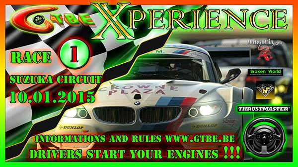 GTBE - Xperience Championship- Round 1