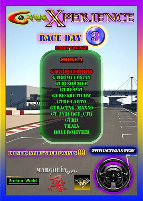 GTBE - Xperience Championship-GT3 Challenge- by Gran Turismo Belgium - Round3