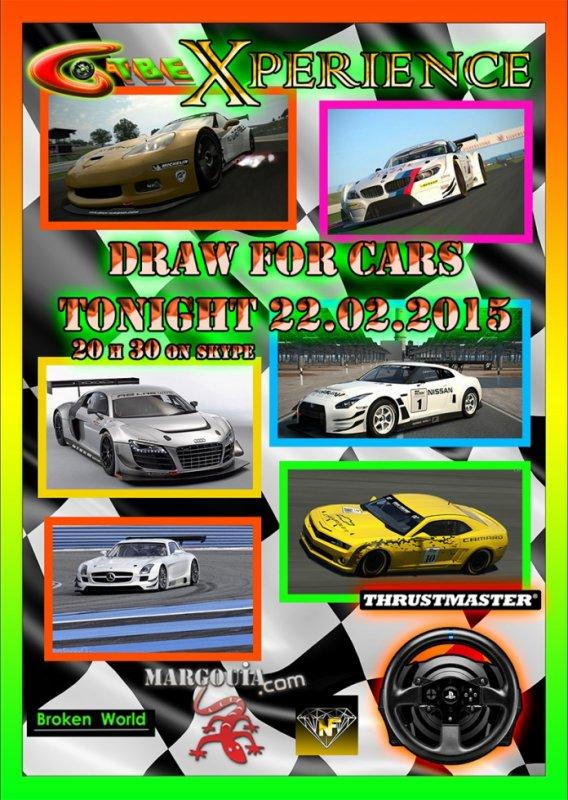 GTBE - Xperience Championship-GT3 Challenge- Radom Draw Car Part 2