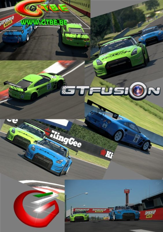 Gran Turismo Belgium vs Gran Turismo Italia Training GTfusion 4 2015