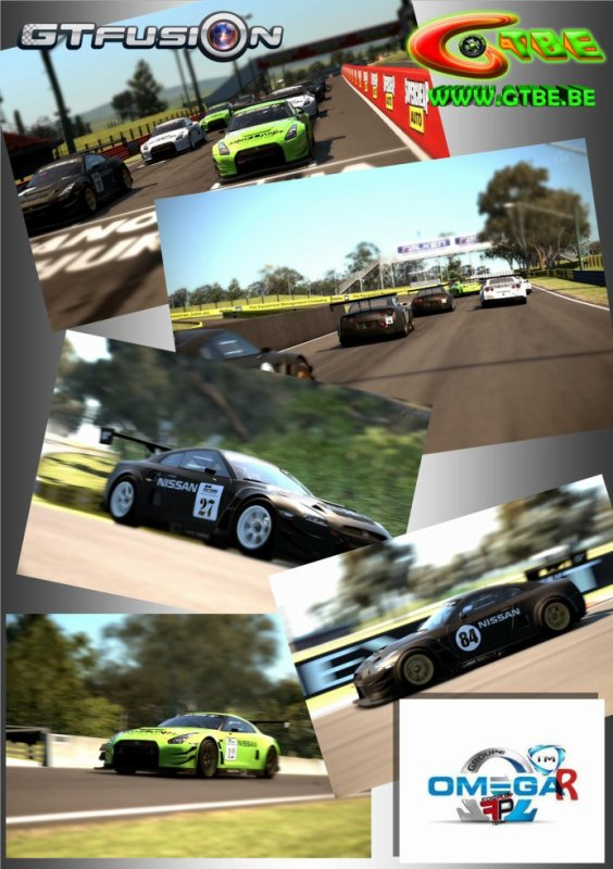 GTfusion Training GTBE vs Omega Racing Team