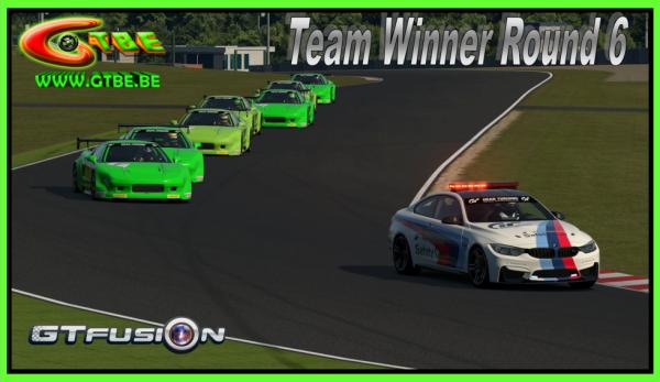 Team GTBE Won GTfusion Round 6 2016
