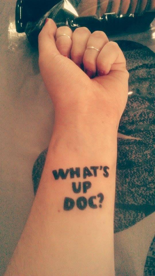Mon premier tatouage !