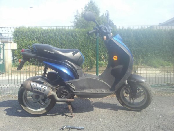Mon scooter ludix