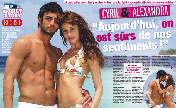 Alex et Cyril : leur lune de miel !!