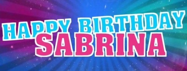 Happy Birthday Sabrina Secret Story 7