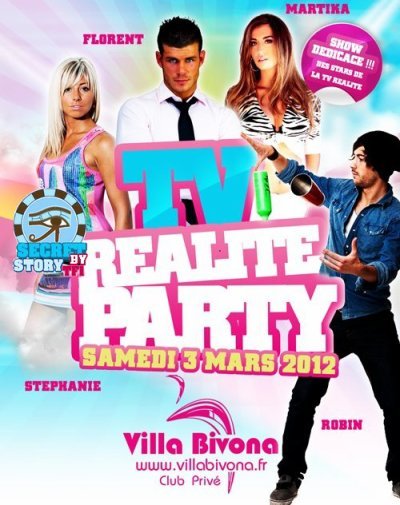 Stéphanie et Robin à la Villa Bivona le 3 mars